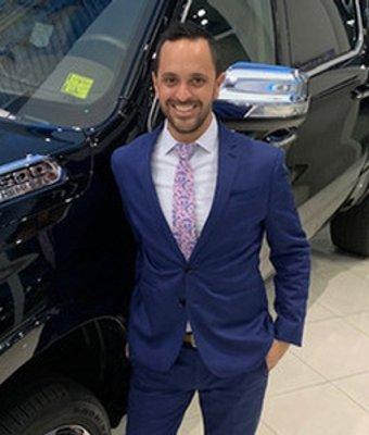 Sales Manager Greg Polkinghorne in Sales Management at Landmark Dodge Chrysler Jeep Ram