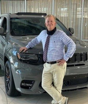Sales Consultant Eric Domohowski in Sales at Landmark Dodge Chrysler Jeep Ram