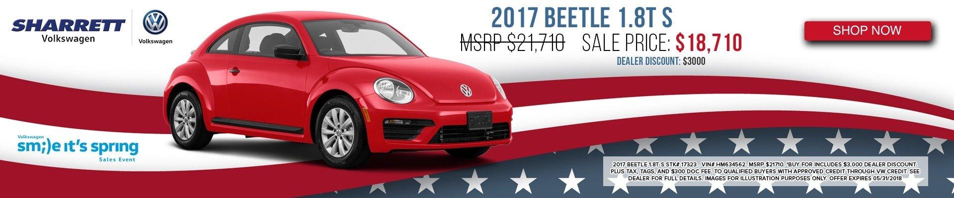 2017 Beetle 1.8TS