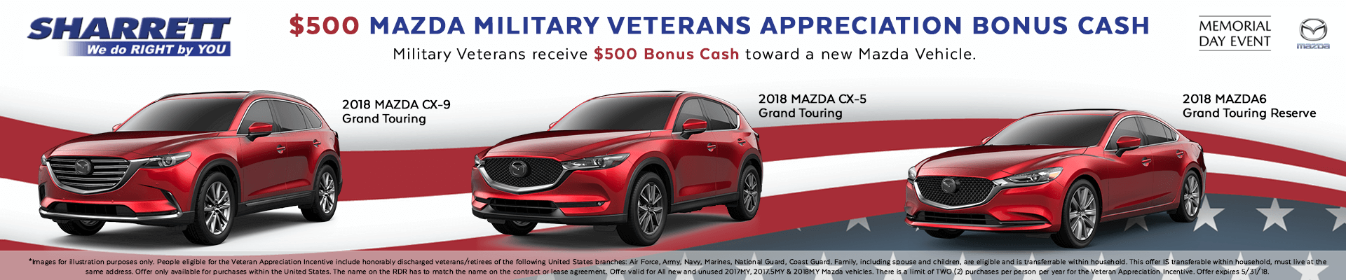 Mazda Military Appreciation Bonus