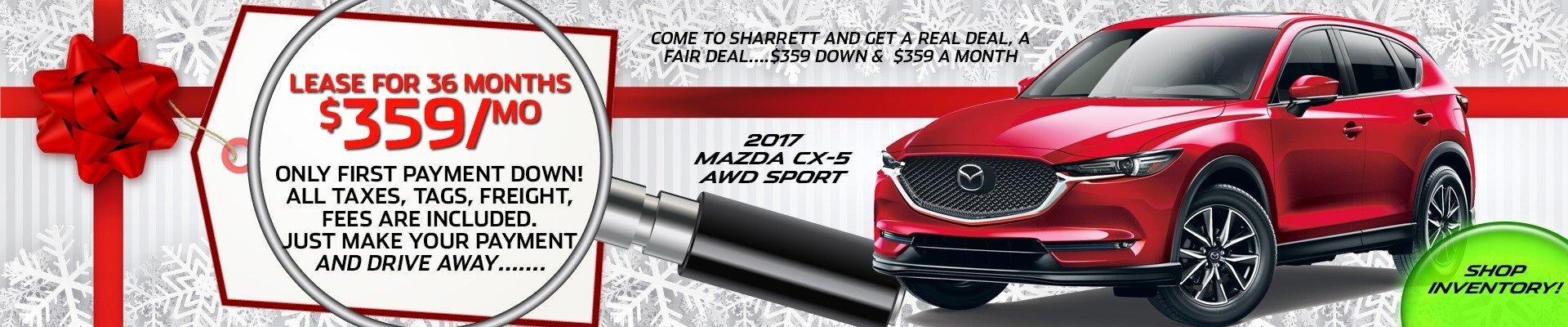 2017 Mazda CX-5 AWD Sport