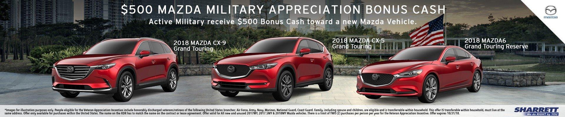 Mazda Military Veterans Appreciation