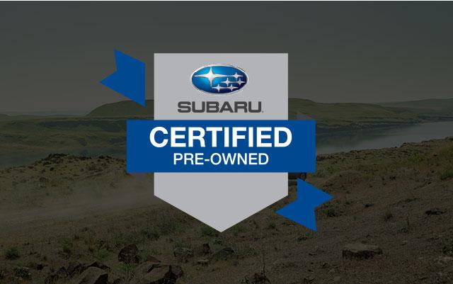certified subaru pre owned logo