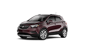 drivers side view of the new buick encore suv at our dealership