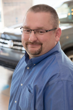 Sales Manager Todd Blickenstaff in Sales at Sharrett Auto Stores