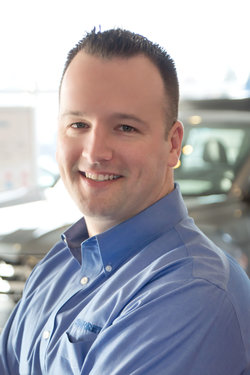 Sales Manager Mark Duvall in Sales at Sharrett Auto Stores