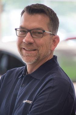 General Sales Manager Matthew Westcott in Sales at Sharrett Auto Stores
