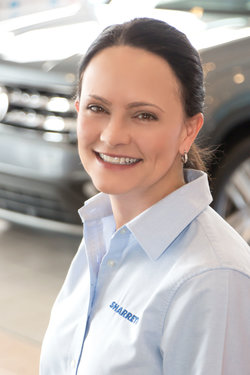 Finance Manager Christine Morral in Sales at Sharrett Auto Stores