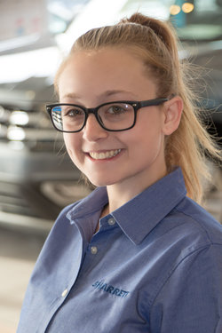 Sales Consultant Anna Hull in Sales at Sharrett Auto Stores