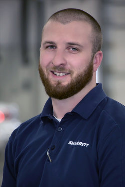 Subaru Service Advisor Jason Kendall in Service at Sharrett Auto Stores