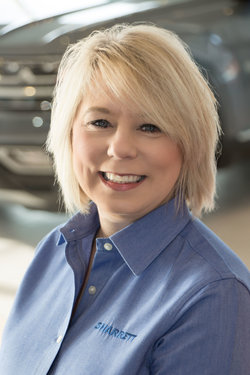 Sales Representative Rhonda Carnes in Sales at Sharrett Auto Stores