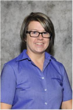 GM / Domestic Parts Associate Jenn Proctor in Parts at Sharrett Auto Stores