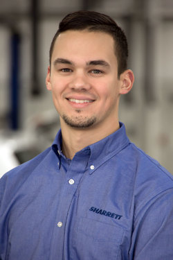 Mazda / VW Service Advisor Logan True in Service at Sharrett Auto Stores