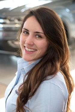 Sales Representative Kat Powell in Sales at Sharrett Auto Stores