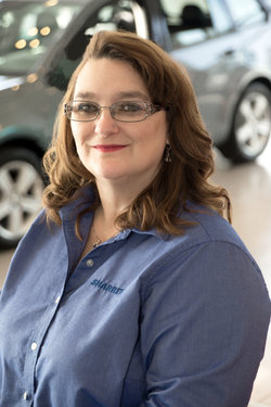 Sales Representative Janet Parsons in Sales at Sharrett Auto Stores