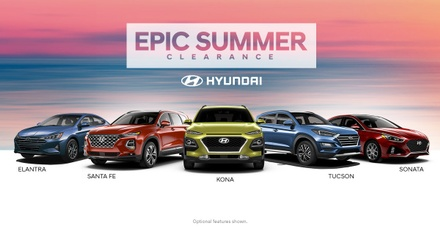 Epic Summer Clearance at Advantage Hyundai