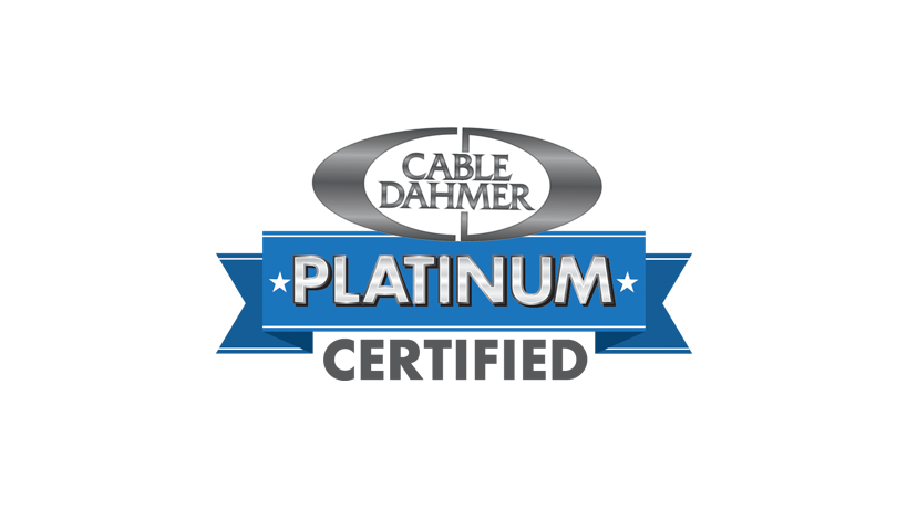 cable Dahmer platinum certified used car logo