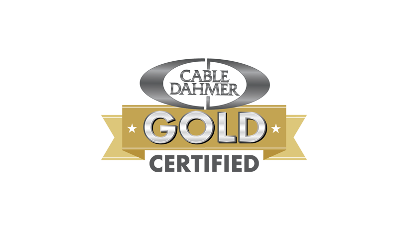 Cable Dahmer gold certified used car logo