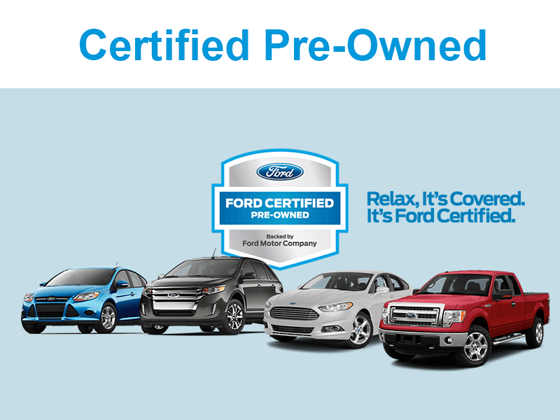 certified pre owned ford vehicles for sale