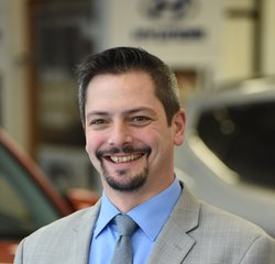 Pre-Owned Sales Manager Matt Shaw in Our Staff at Advantage Hyundai