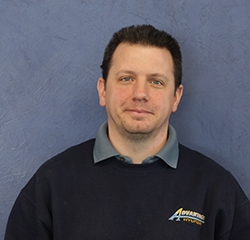 Parts Manager Mike Morrison in Service at Advantage Hyundai