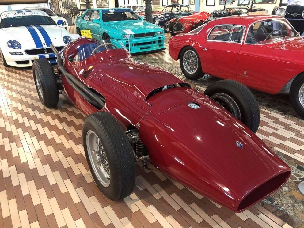 V12 250F race car