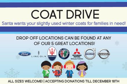 Coat Drive information