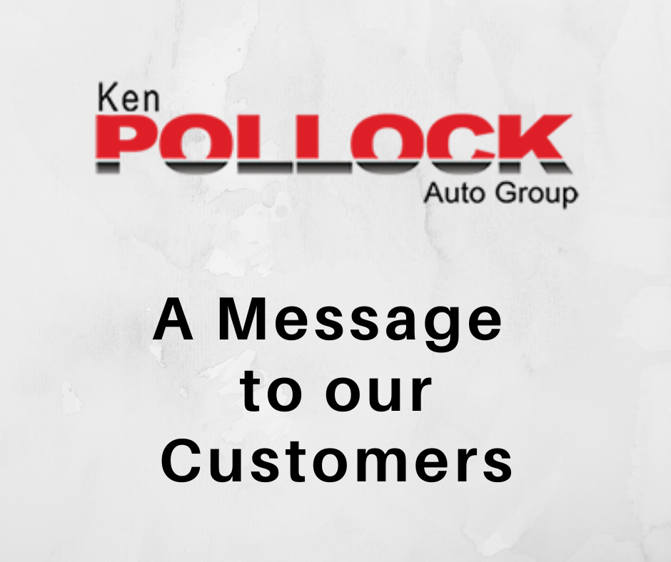 A MESSAGE TO OUR CUSTOMERS