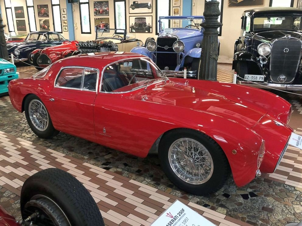A6GCS 53 Berlinetta, designed by Pininfarina,