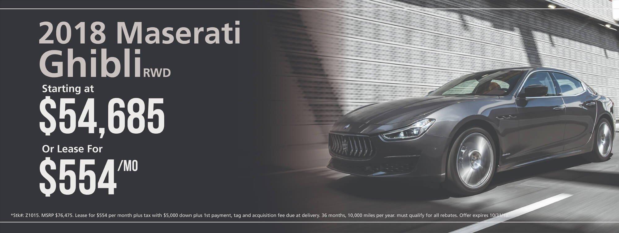 2019 Maserati Ghibli RWD