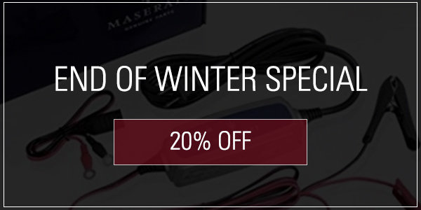 Coupon for End of Winter Special! 20% off