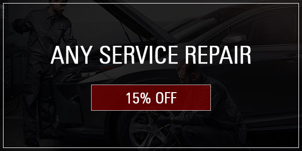 Coupon for Any Service Repair 15% off