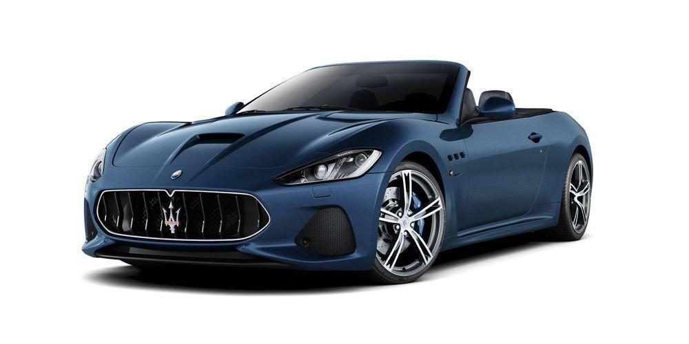 blue maserati granturismo convertable at Ken Pollock Maserati