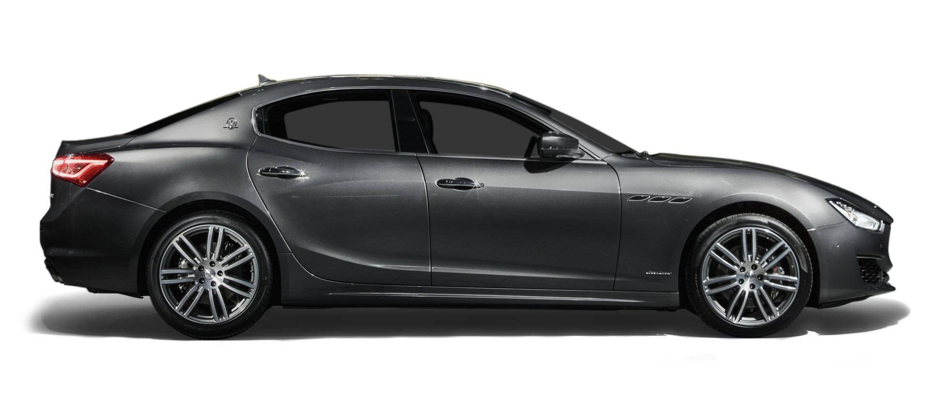 silver 4 door maserati ghibli main 2018