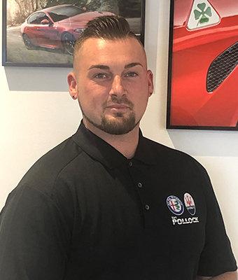 Sales Professional Ben Yates in Sales at Ken Pollock Maserati