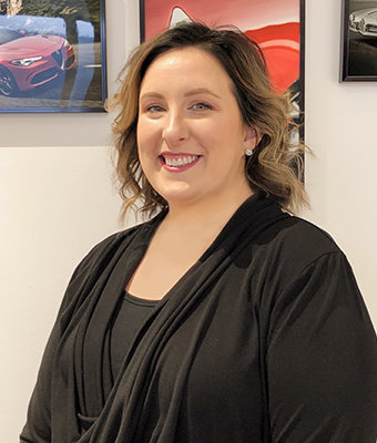 Concierge Melissa Caprari in Sales at Ken Pollock Maserati