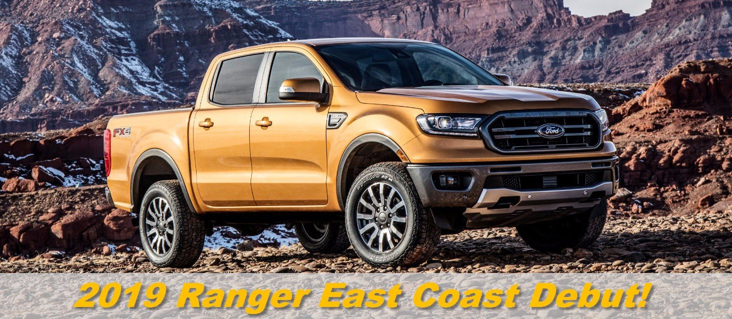 See The 2019 Ford Ranger at the Auto Show!