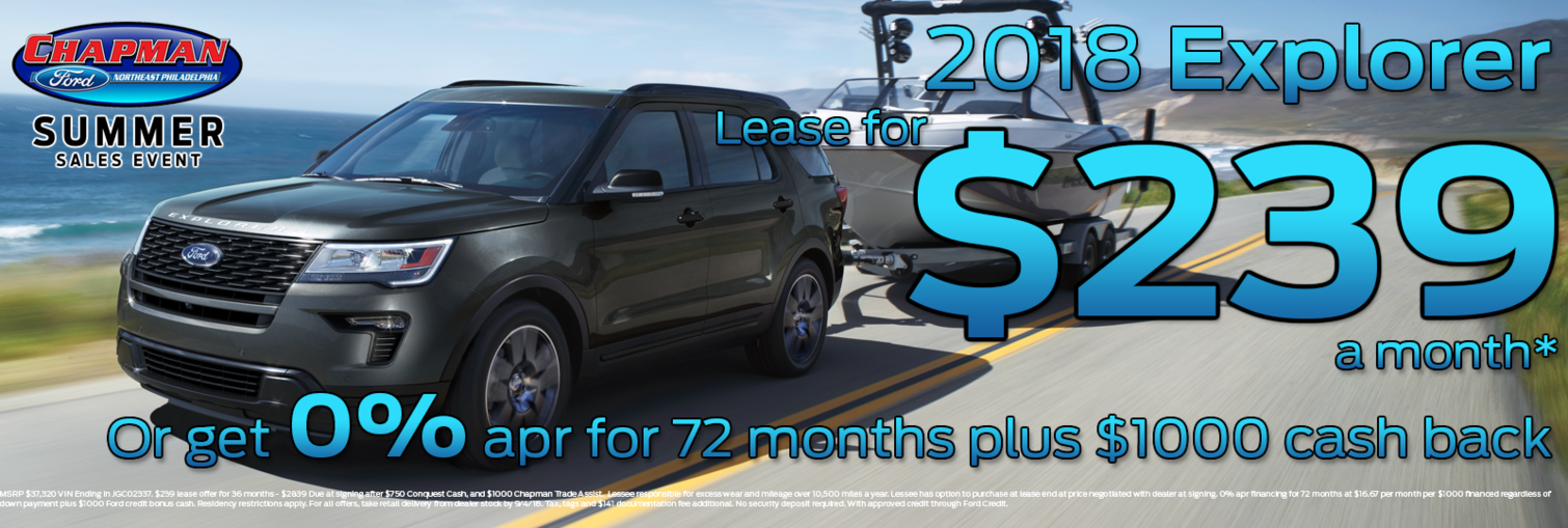 Chapman Ford Conquest Offer January 2018