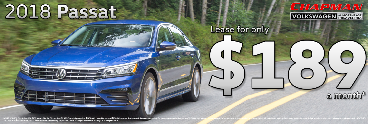 Passat Lease july