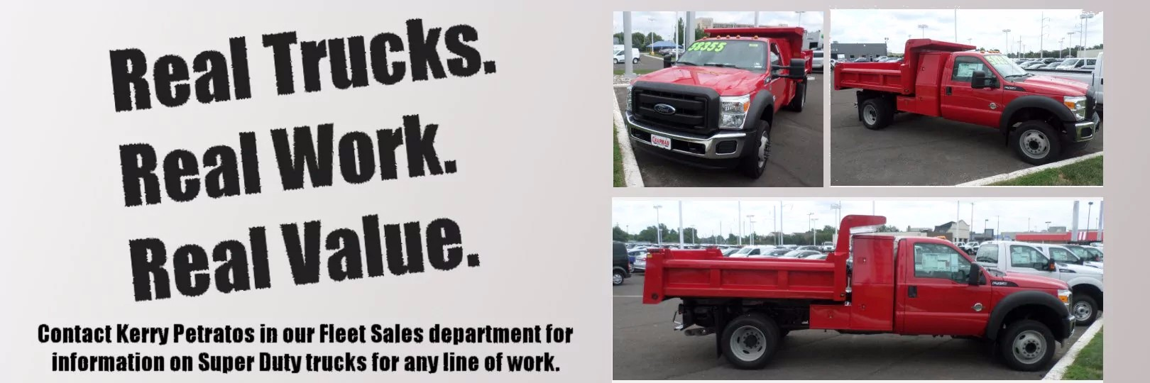 Contact us for fleet inventory information