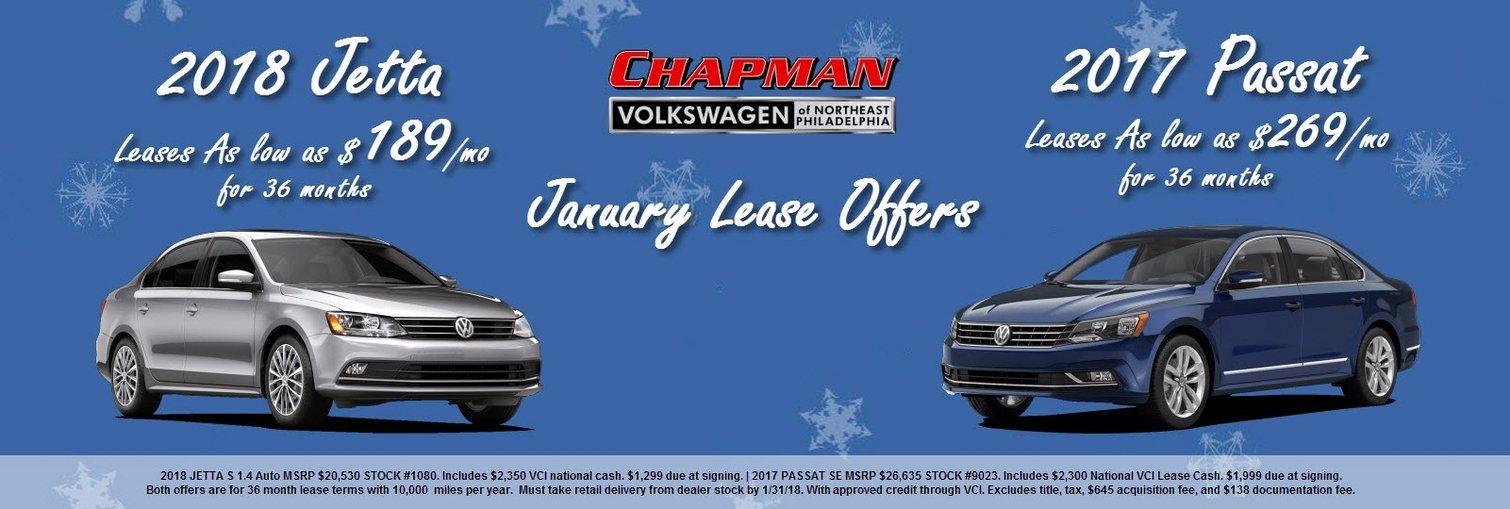 Chapman VW January Offers