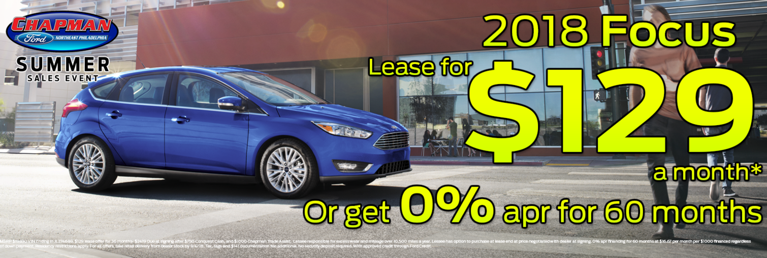 Focus lease july
