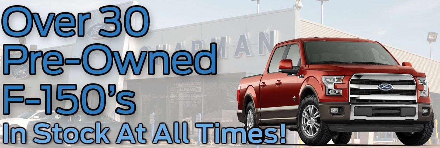 Preowned f150 april