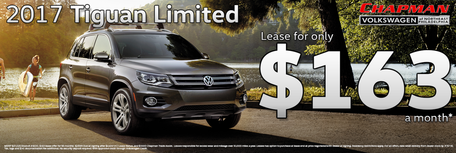 Tiguan July Lease
