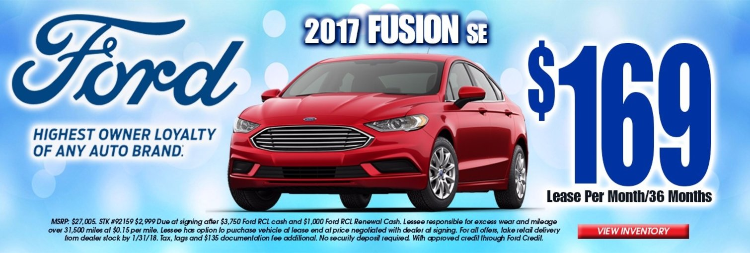 Chapman Ford January Lease Offer