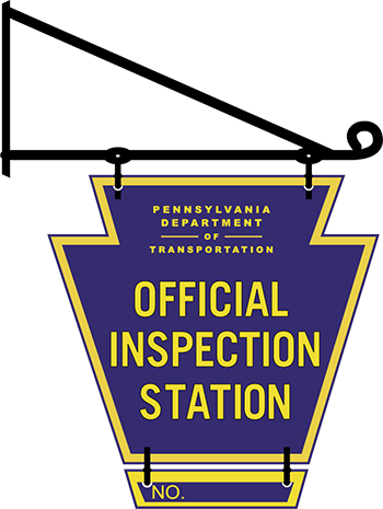 Philadelphia State Inspection sign