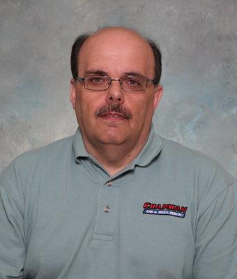 Sales Associate Nunzio Interra in Sales at Chapman Ford VW