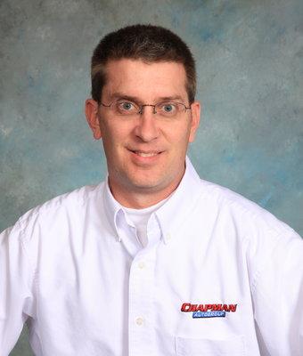 Sales Associate Brian Brooks in Sales at Chapman Ford VW