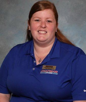 BDC / Internet Manager Julia Keenan-Pickul in Internet Sales at Chapman Ford VW