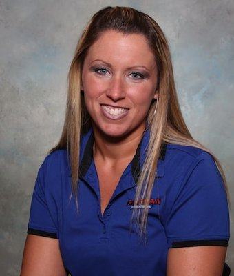 Assistant Service Manager Renae Gadomski in Service at Chapman Ford VW